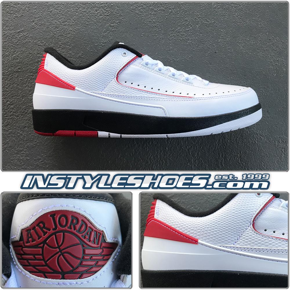 online store e2542 3ea12 Air Jordan 2 Low Chicago 831819-101