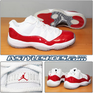 Air Jordan 11 Low Varsity Red 528895-102