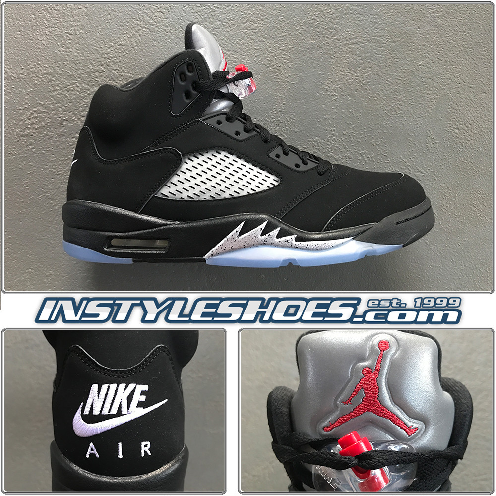 online store 11c48 cd151 Air Jordan 5 OG Black Metallic 845035-003