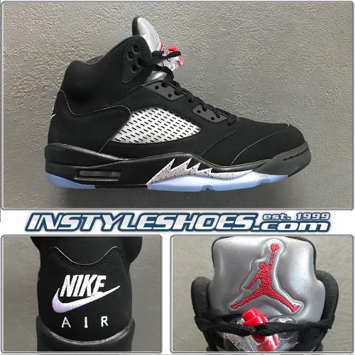 Air Jordan 5 OG Black Metallic 845035-003