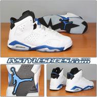 Air Jordan 6 GS Sport Blue 384665-107