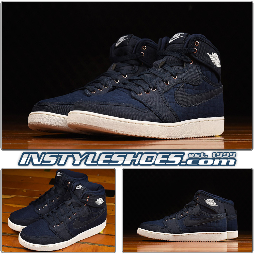 hot sale online 7e5ef c459d Air Jordan 1 KO Obsidian 638471-403