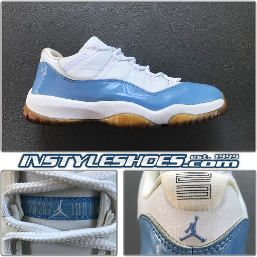 2001 Air Jordan 11 Low Columbia Blue