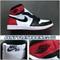 Air Jordan 1 OG Black Toe 555088-125