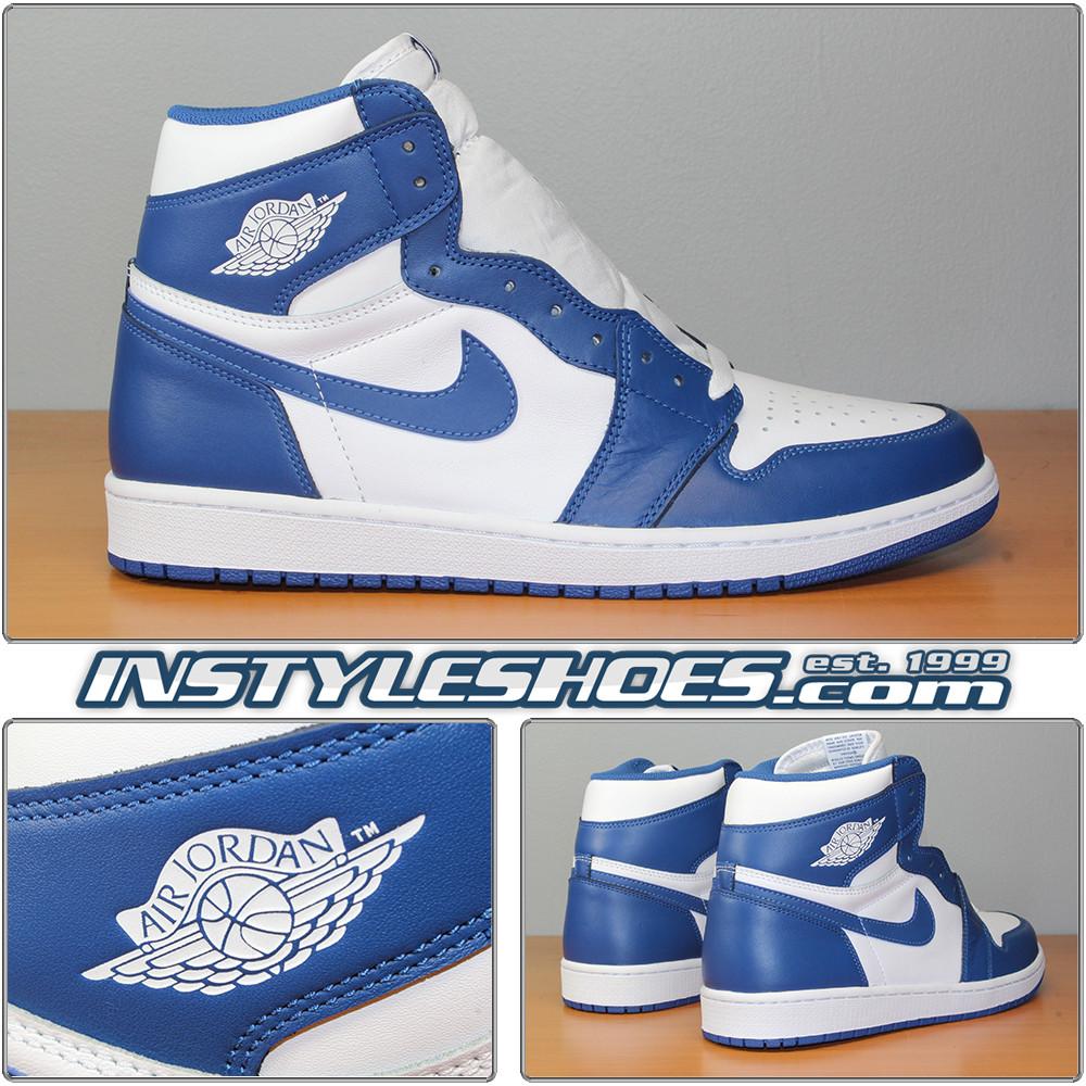 7ea27592fd6 Air Jordan 1 High OG Storm Blue 555088-127