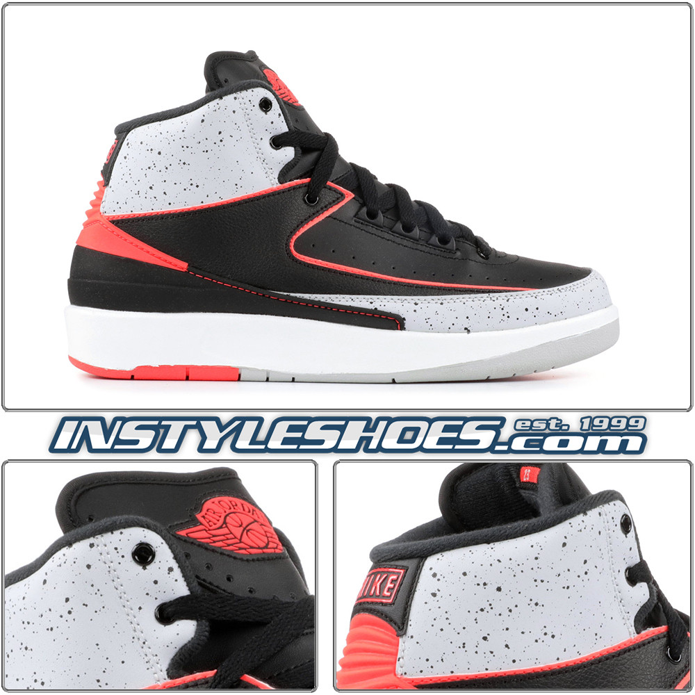 05aa82e67e78 Air Jordan 2 Retro Infrared 23 GS 395718-023