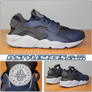 Air Huarache Mid Navy 318429-409