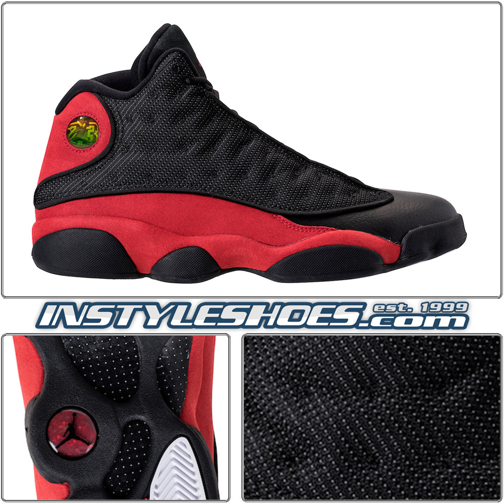 the latest a8475 fde96 Air Jordan 13 Black True Red 414571-004