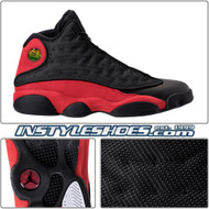 the latest 68315 d78d3 Air Jordan 13 Black True Red 414571-004