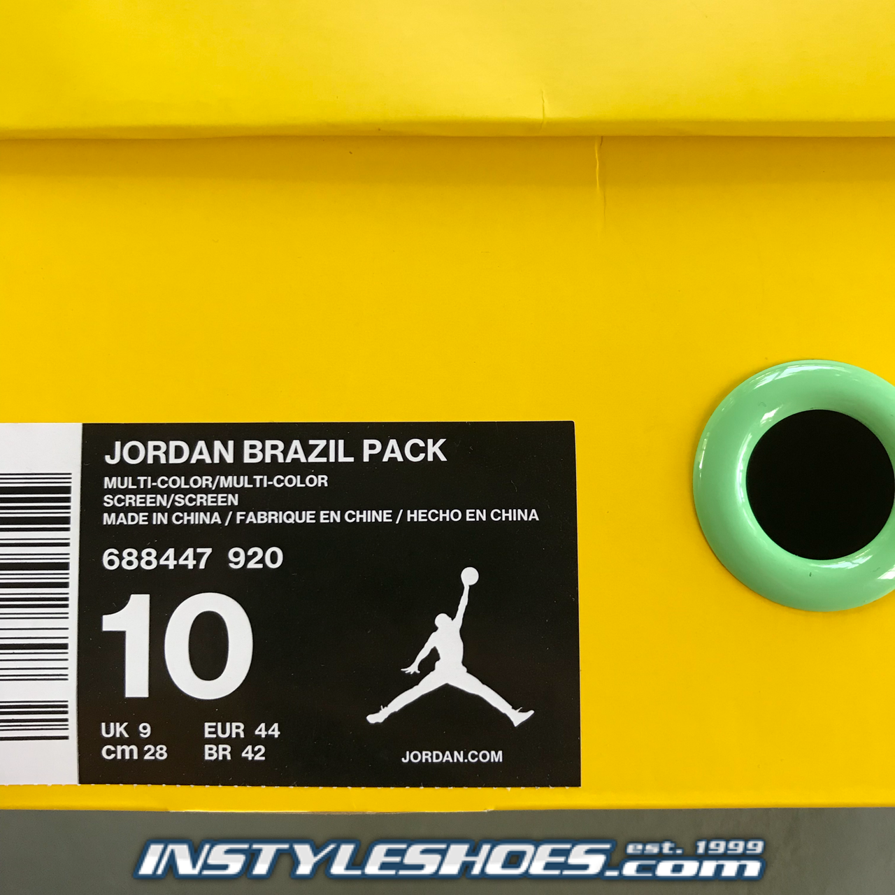 35528efe101f93 Air Jordan 6 Brazil 688447-920. Larger   More Photos