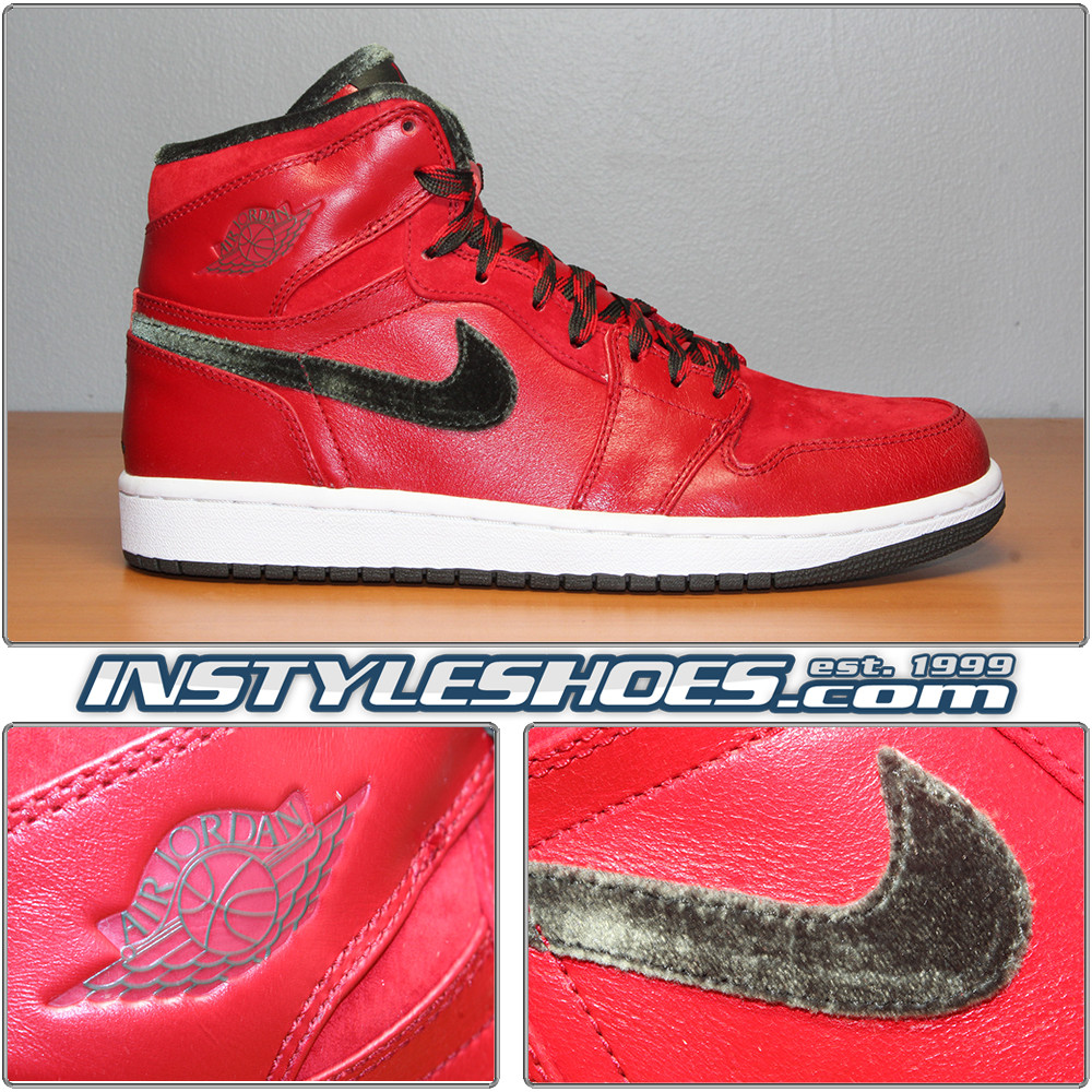 6f4c56b4a4a Air Jordan 1 Hi Premier V Red 332134-631