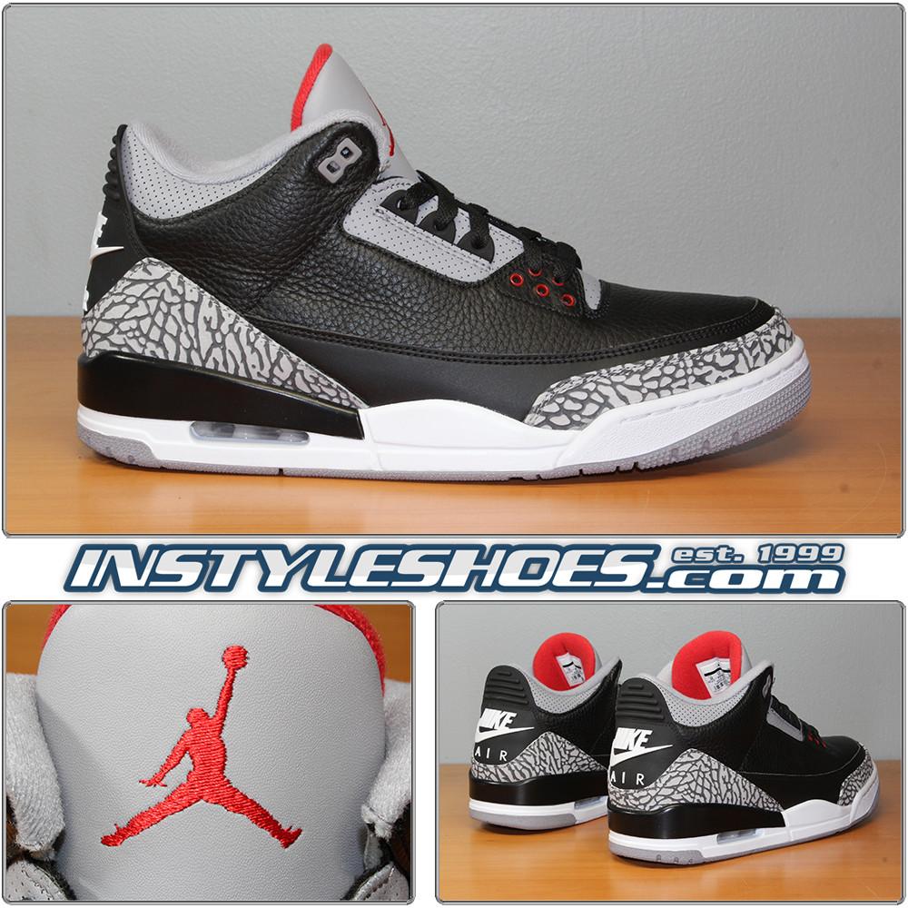 1621a5cce5f709 Air Jordan 3 OG Black Cement 854262-001