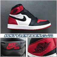 Air Jordan 1 OG Bred Toe 555088-610