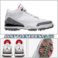 Air Jordan 3 Golf White Cement AJ3783-100