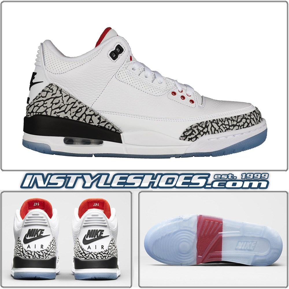 Air Jordan 3 Free Throw Line 923096 101