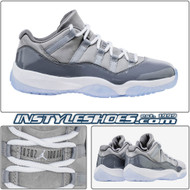 Air Jordan 11 Low Cool Grey 528895-003
