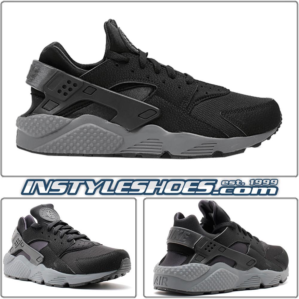 size 40 643db c64dd Air Huarache Black Dark Grey 318429-010