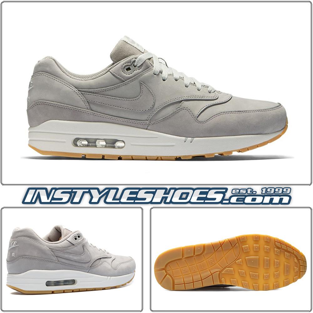 buy popular 1a896 6f2b9 Air Max 1 Ltr Prm Grey Gum 705282-005