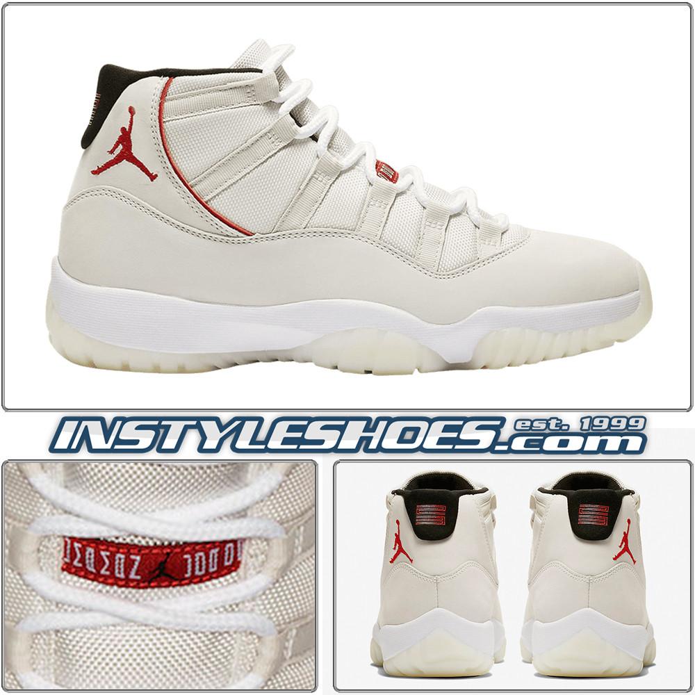 1153323dff9fae Air Jordan 11 Platinum Tint 378037-016