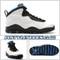 Air Jordan 10 Orlando 310805-108