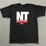 Niketalk NT Knows Black T-Shirt