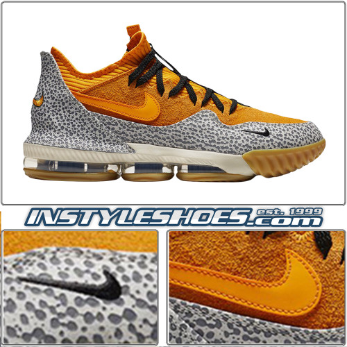Lebron 16 Low Atmos Safari CD9471-800
