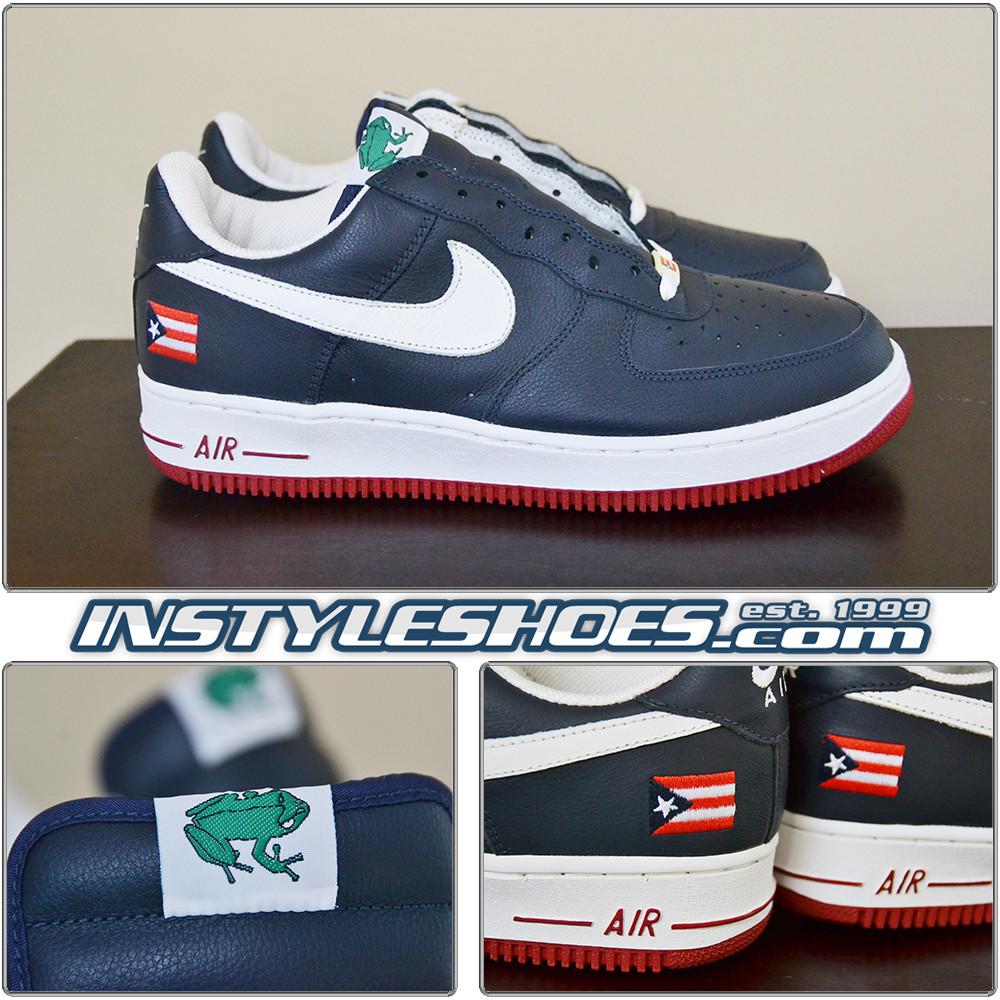 sale retailer f127a 67a0b 2002 Nike Air Force 1 PR3 Puerto Rico 3