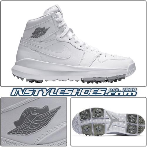 Air Jordan 1 Golf White Silver 917717-101