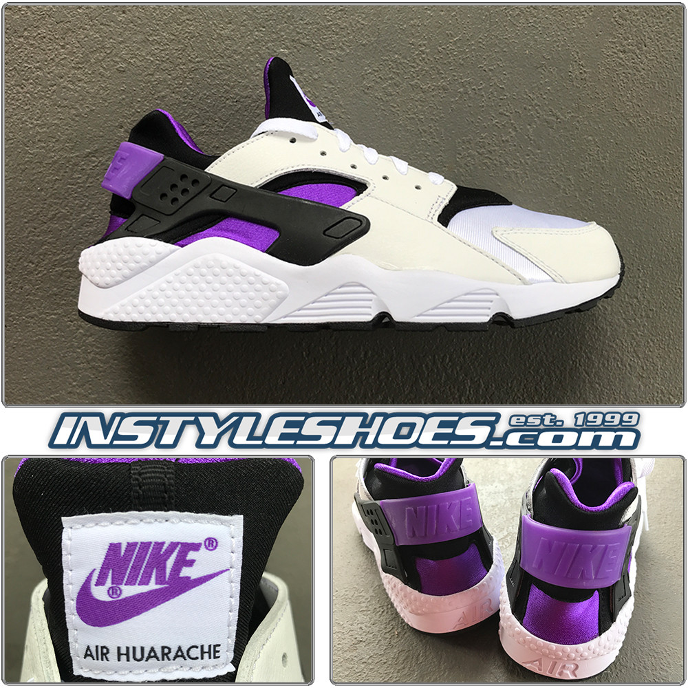 the best attitude d88e8 f14a0 Air Huarache '91 Black Purple AH8049-001