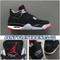 Air Jordan 4 Black Cement 308497-060