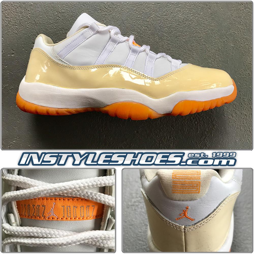 Wmns Air Jordan 11 Low Citrus 833001-181