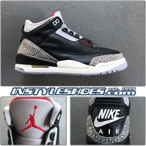 Air Jordan 3 1994 Black Cement 130203-001