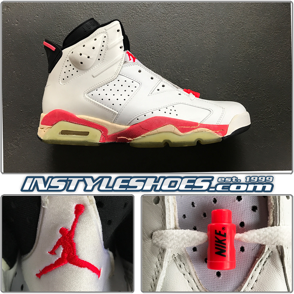 huge discount ce082 7a26b Air Jordan 6 1991 OG White Infrared