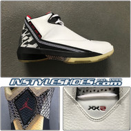 Air Jordan XX2 White Black Sample