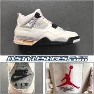 Air Jordan 4  OG 1989 White Cement
