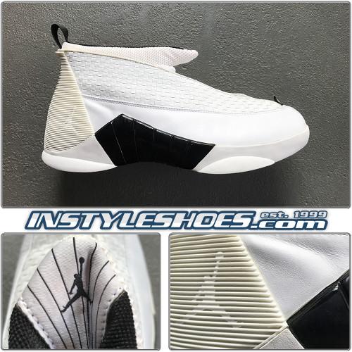 2000 Air Jordan 15 TB White Black