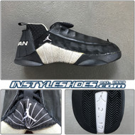 Air Jordan 15 Low Black Metallic Silver
