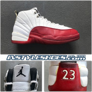 1997 Air Jordan 12 White Varsity Red
