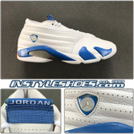 Air Jordan 14 Low Pacific Blue  312567-141