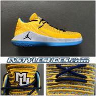Air Jordan 32 Low Yellow Marquette PE