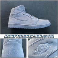 2017 Air Jordan 1 High Grey Suede 332550-031
