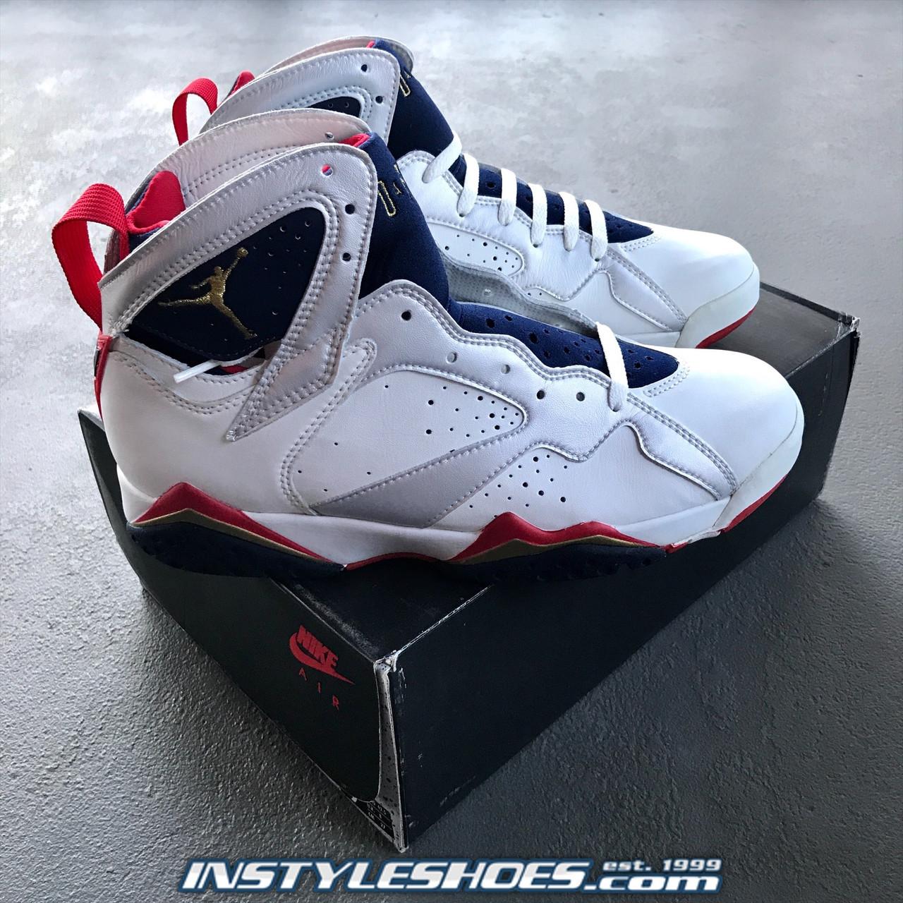 1992 Air Jordan 7 Olympic Sales Sample