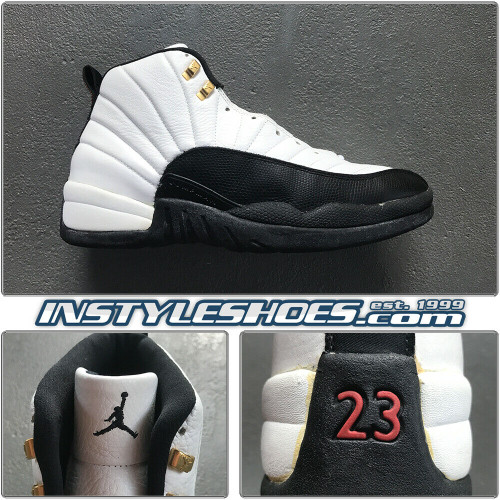 1996 Pre Owned Sz 15 Air Jordan 12 Taxi