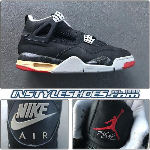 1989 Air Jordan 4 Black Cement Original