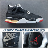 1989 Air Jordan 4 Black Cement Original