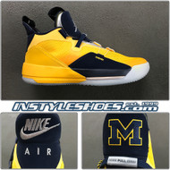 Air Jordan 33 Michigan Player Exclusive