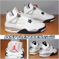 Air Jordan 4 IV Retro White Cement 136013-101 1999