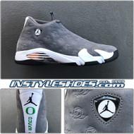 Air Jordan 14 Oregon Ducks PE