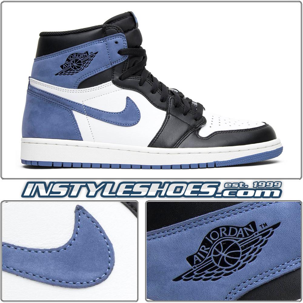 Air Jordan 1 High Og Blue Moon 555088 115