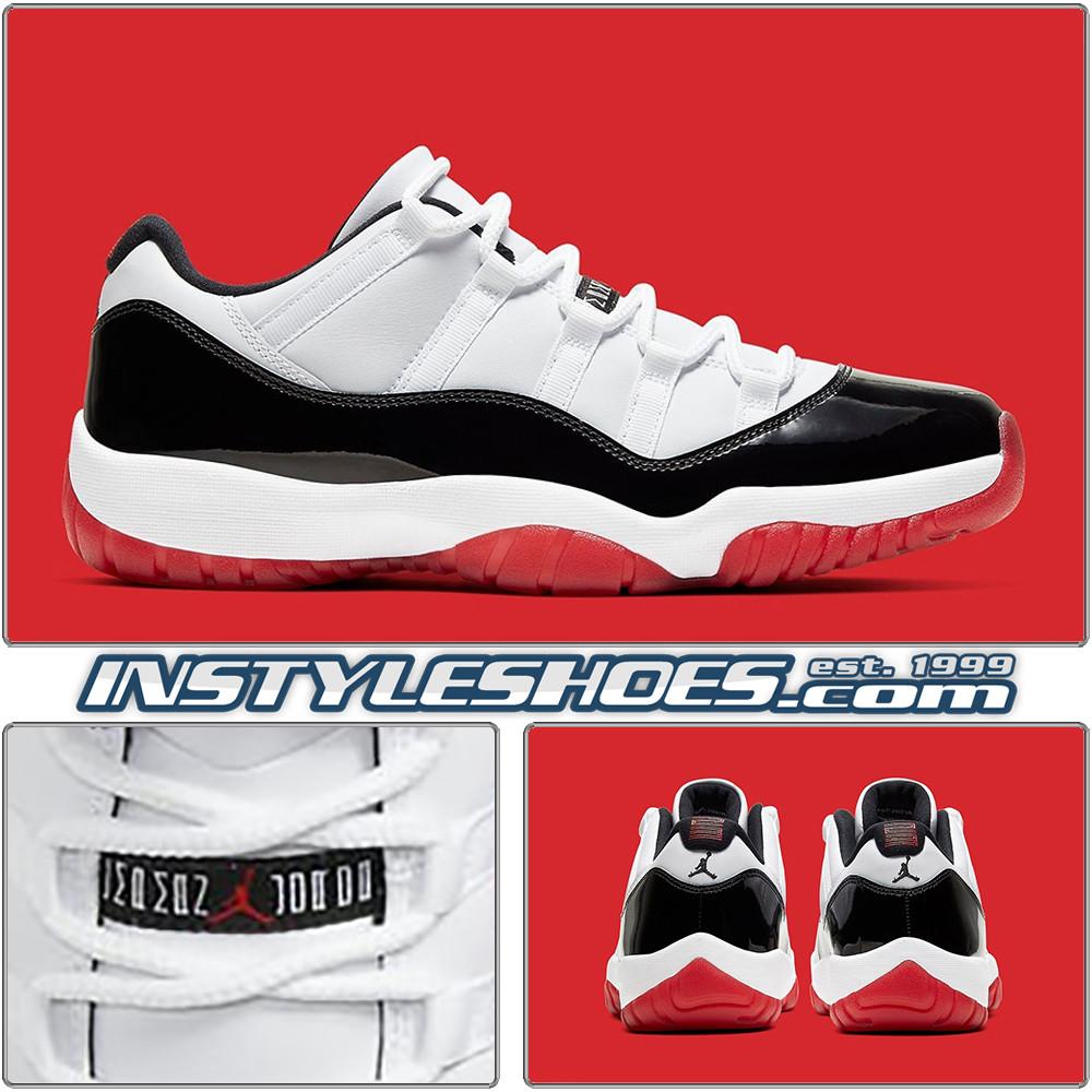 2020 Air Jordan 11 Low Chicago Bulls
